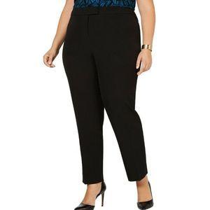 Anne Klein 16W Straight Leg Flat Front Dress Pants
